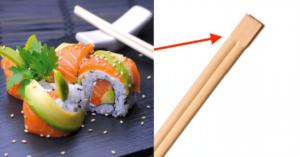 como usar palitos de sushi