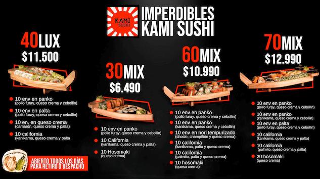 promo kamisushi