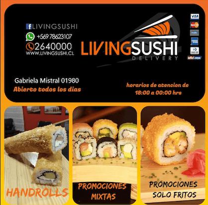 promo living sushi