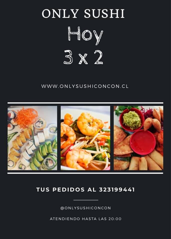 promo only sushi