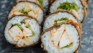 tempura del sushi
