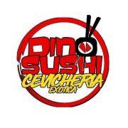 dino sushi logo