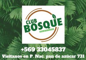 logo club bosque sushi