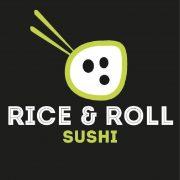 rica rolls sushi logo